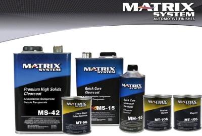 Matrix Paint Header